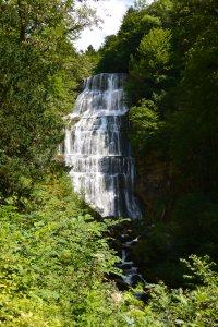 L'Éventail, cascade du Hérisson
