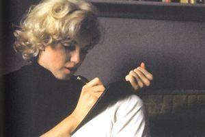 marilyn-monroe-écrivant
